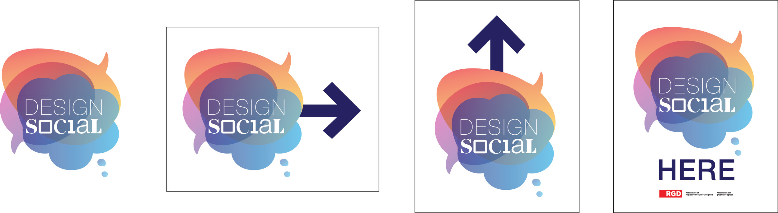 Design Social Logo and Basic Way-finding (used at the various locations the event is hosted)