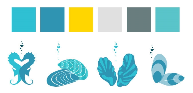 Final Palette and Illustration Ideations