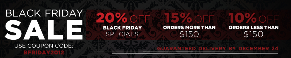 Website Banners for Black Friday
