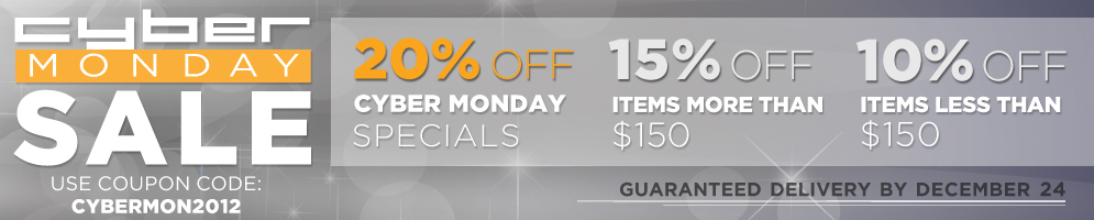Website Banners for Cyber Monday
