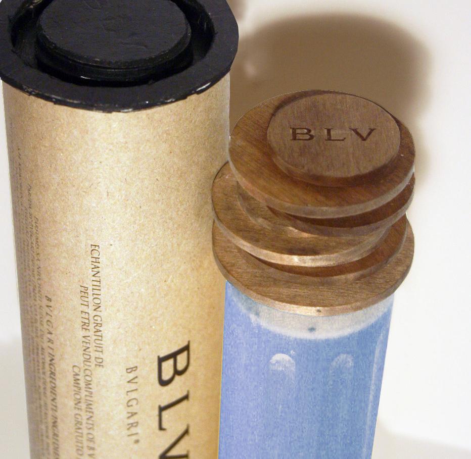 Prototype Box and Bottle  (close-up)