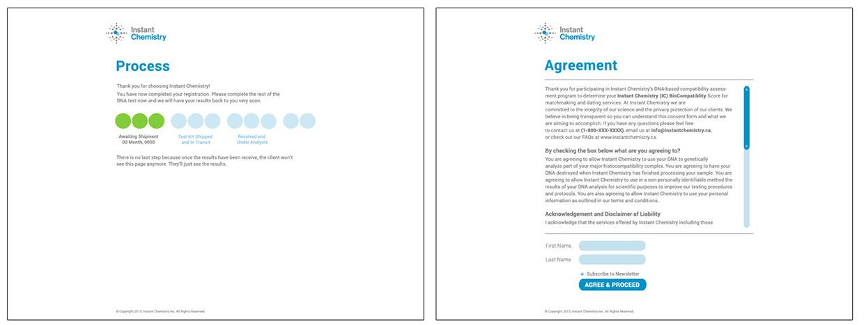 Client Portal - Various Pages