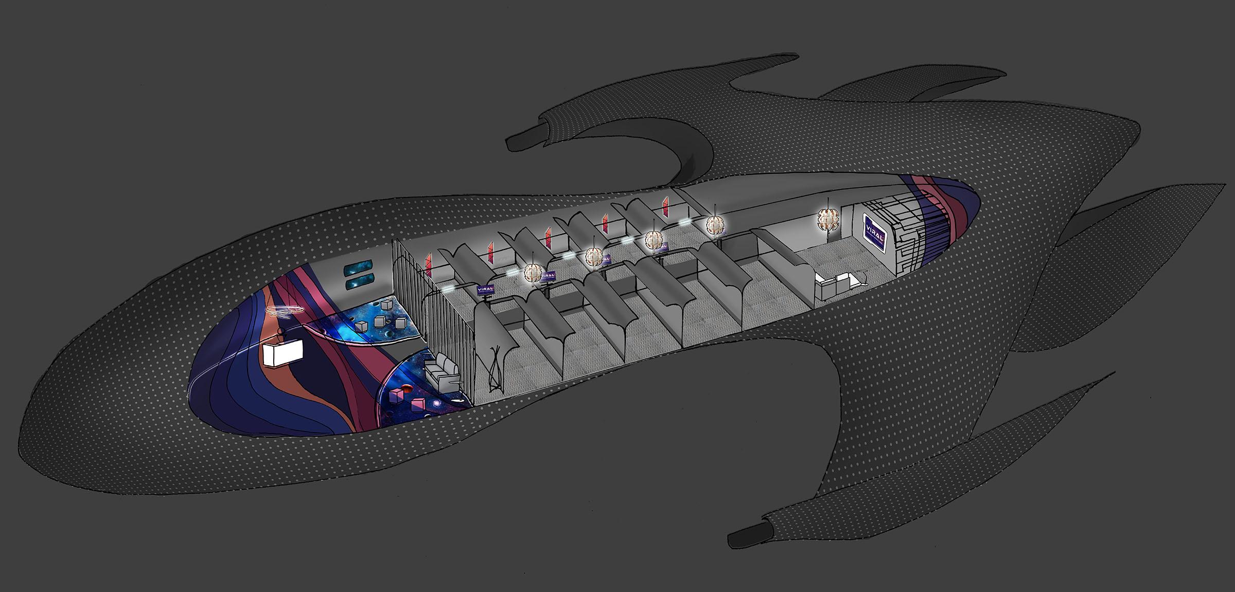 Interior Diagram for Web Use -Spaceship Illustration