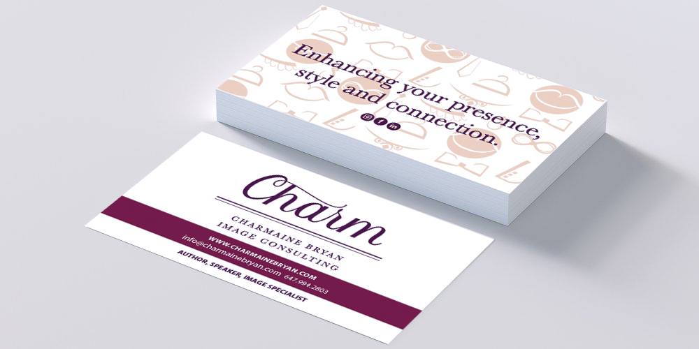 Business Cards (above)