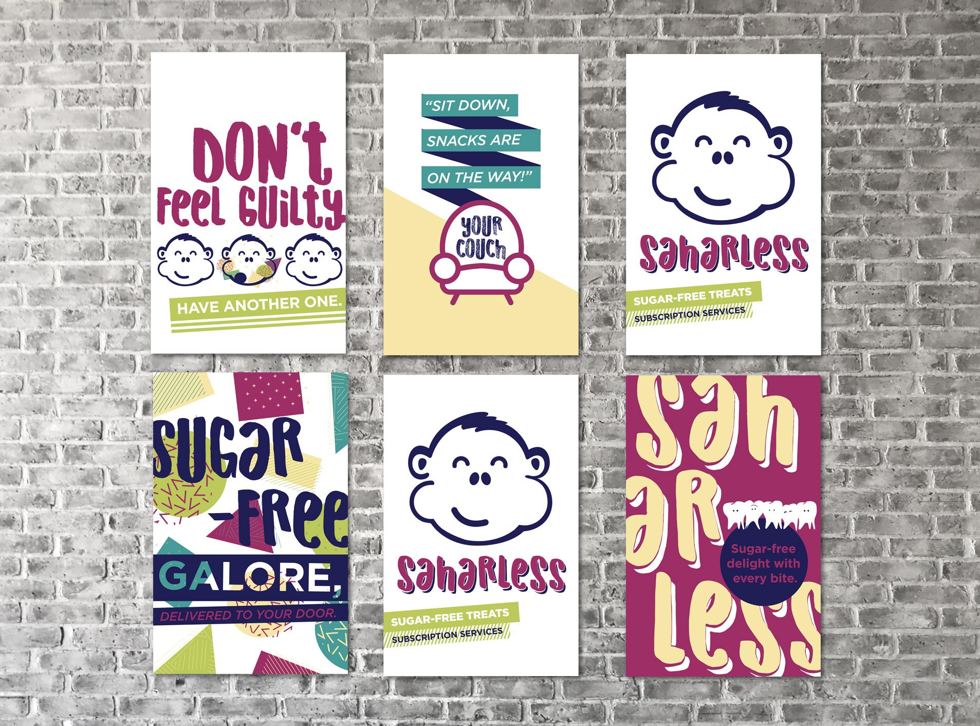 Saharless Outdoor Poster Series