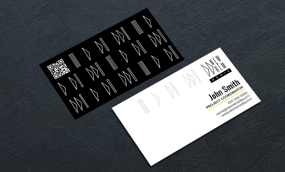 NewRem Media Business Cards