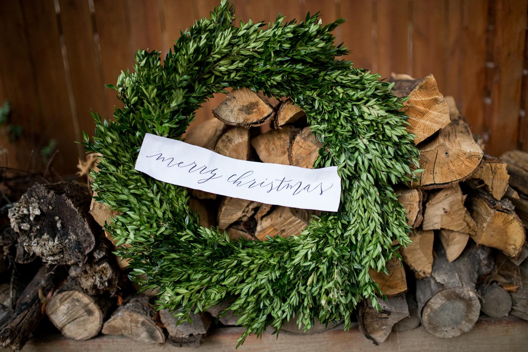 Calligrahy Wreath