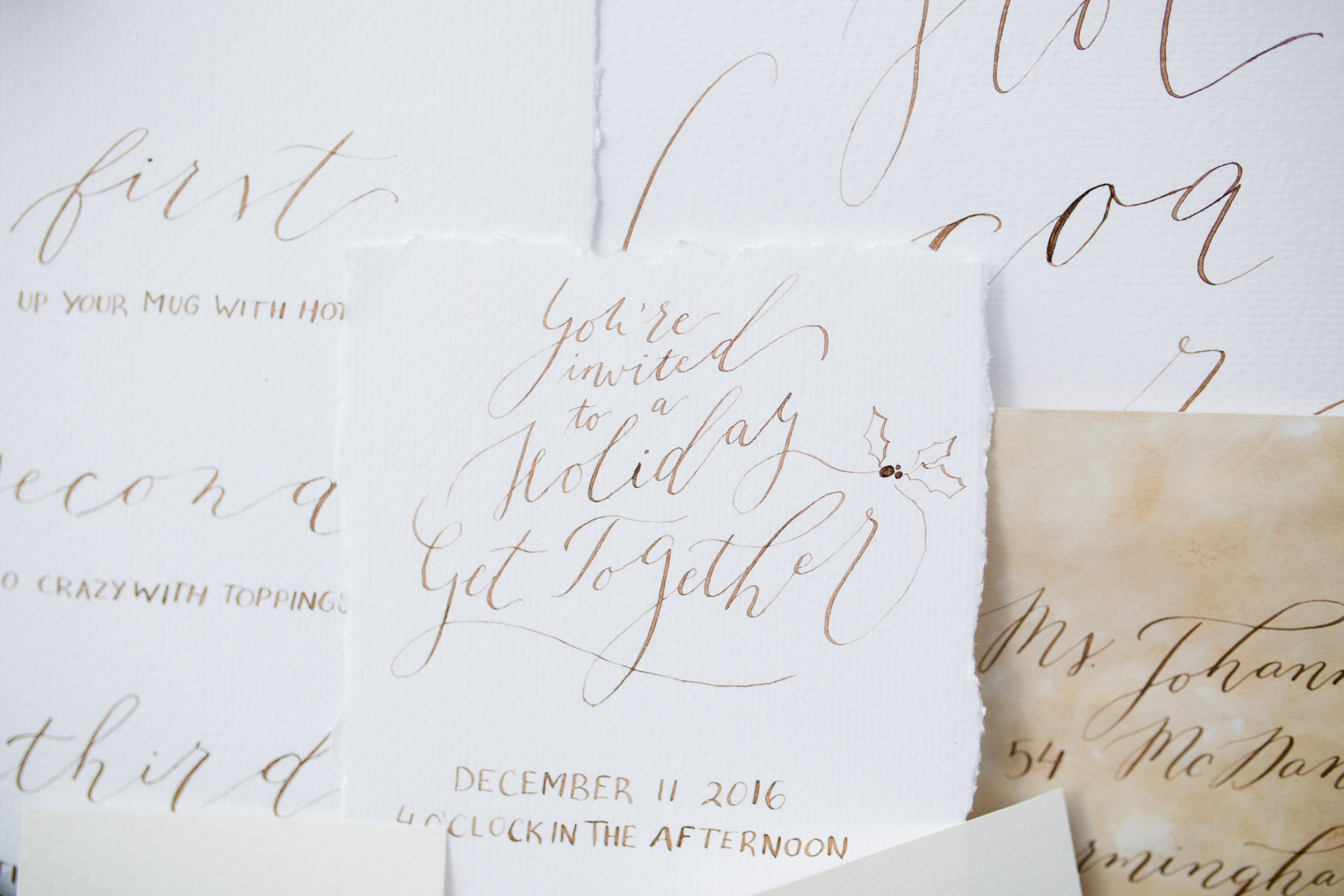 Calligraphy Walnut Ink