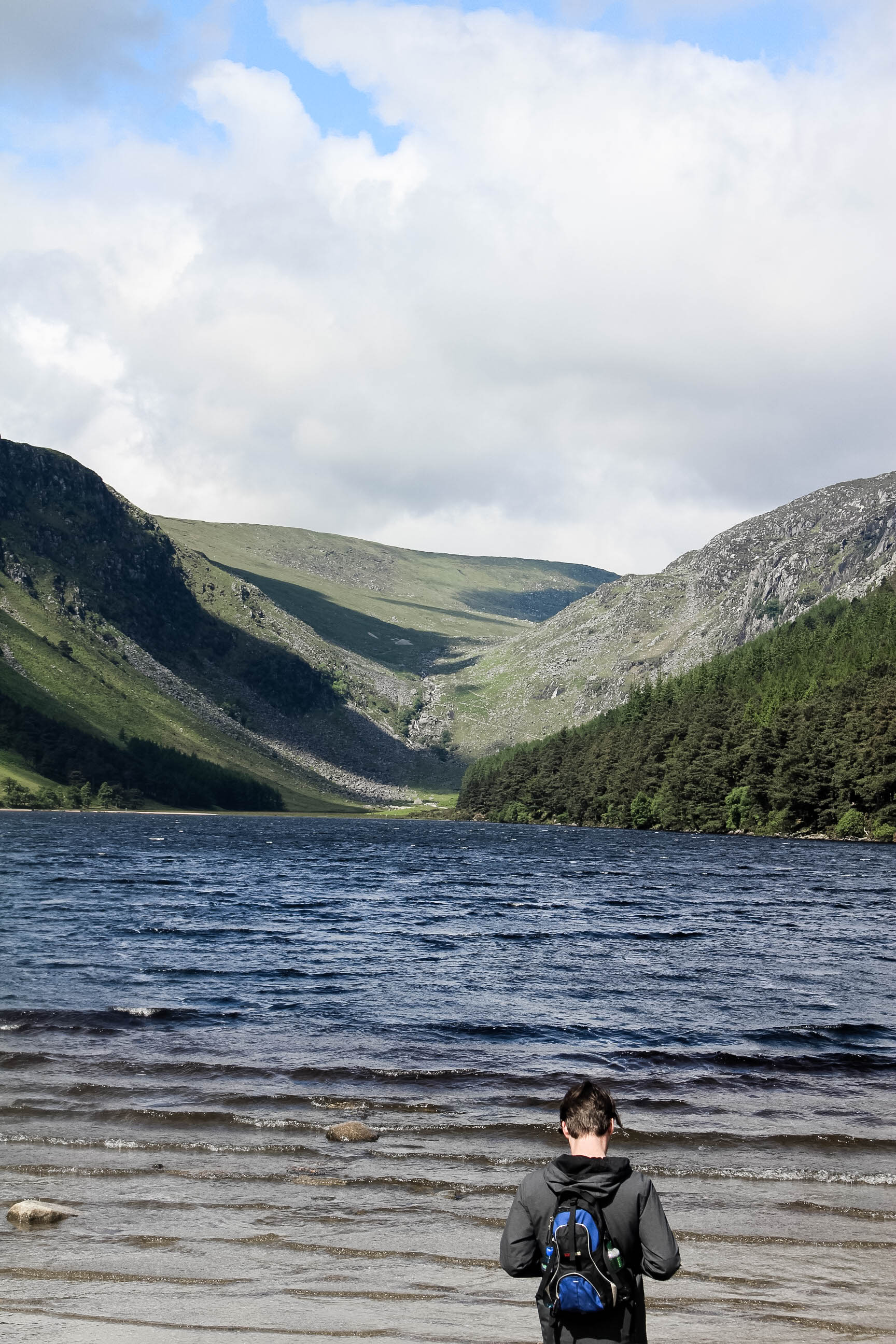 Glendalough - Things to do in Ireland - Sarah from True North Paper Co.