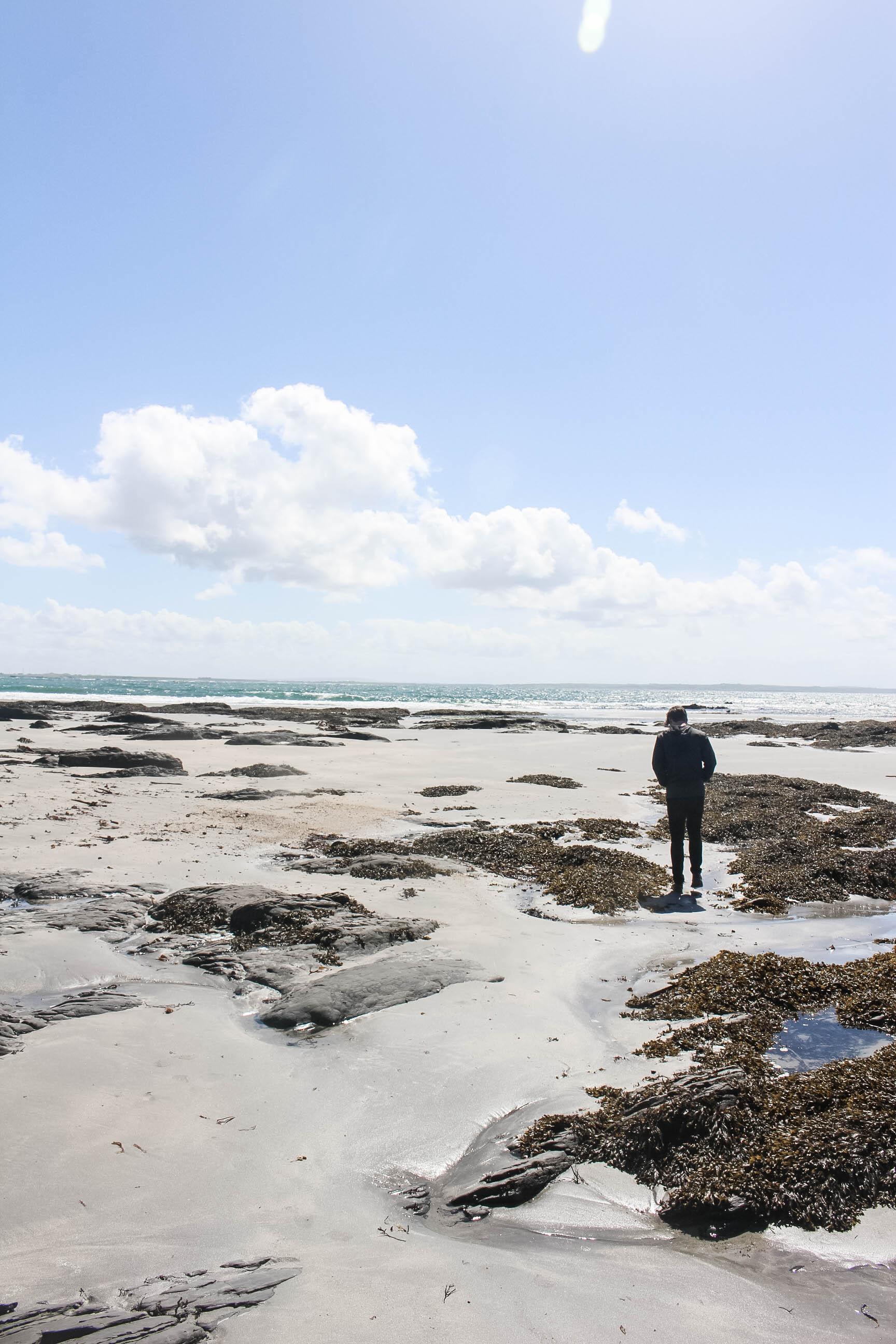 Hidden Beaches of County Clare Ireland near the Cliffs of Moher