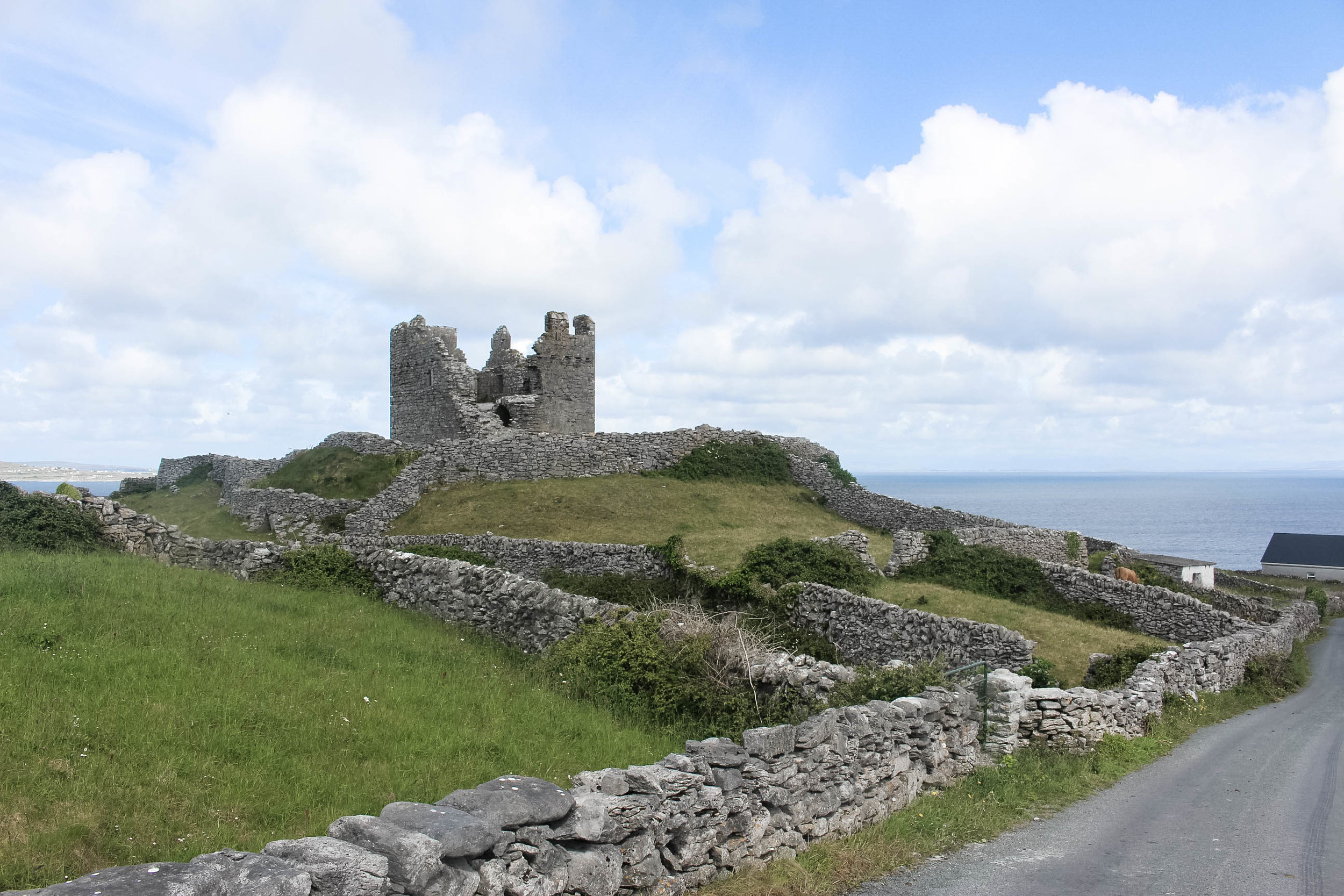 Castle on Inis Oirr, Aran Islands, Ireland - Things to do in Ireland