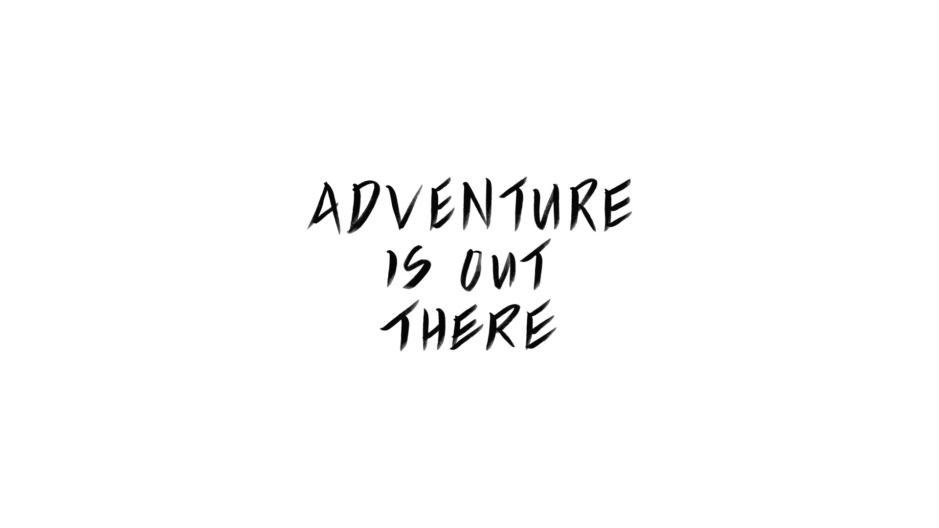 Adventure is Out There Quote - Travel Inspired Digital Freebies - True North Paper Co. partnered with Bon Paper House