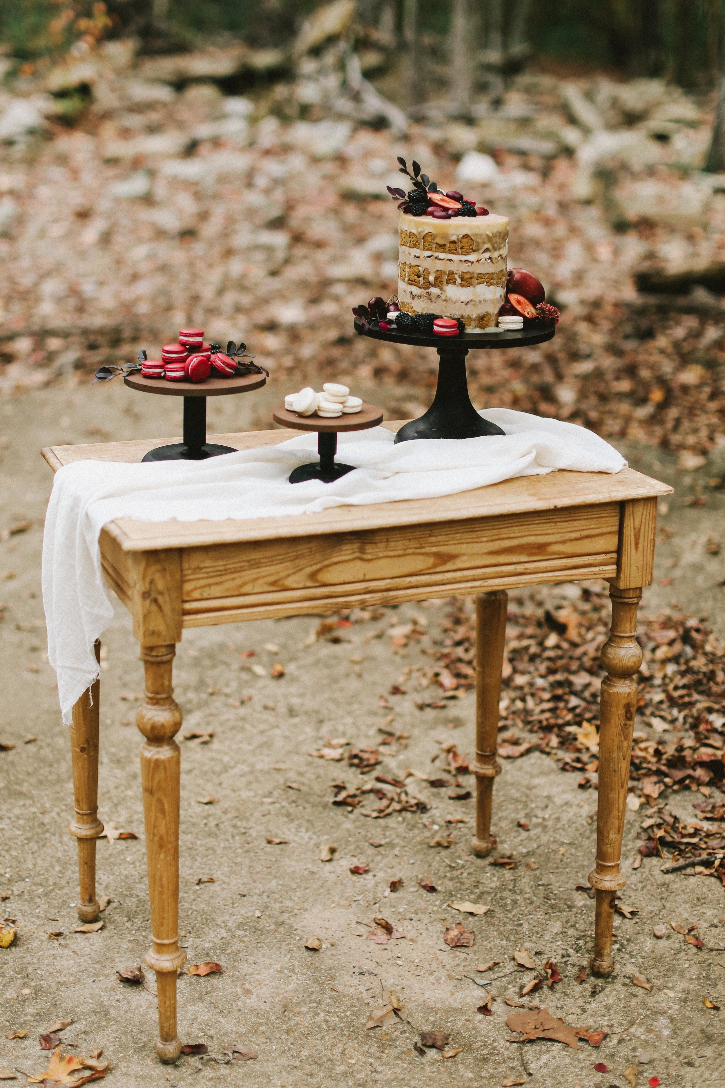 Autumn Wedding Shoot - Rich Colors and Textures - Moody Wedding Ideas