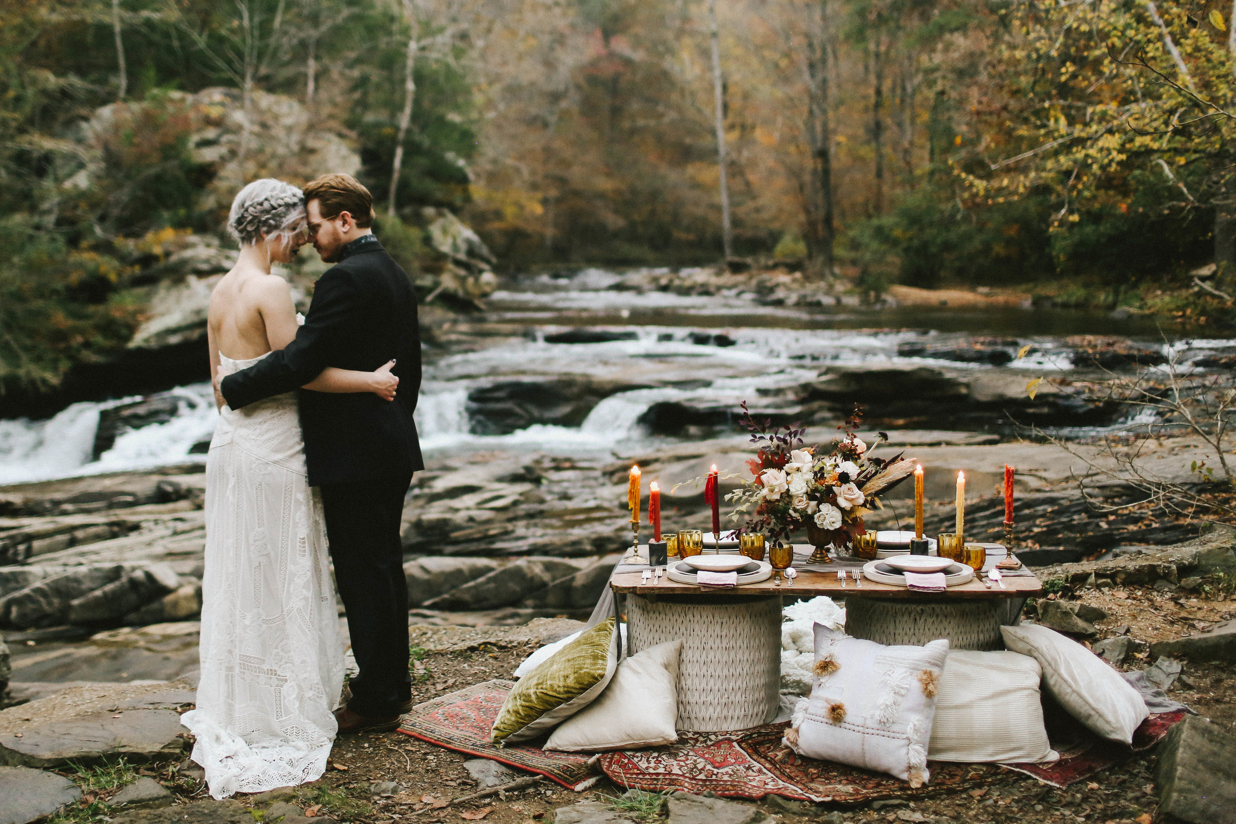 Moody Autumn Wedding Shoot - Fall Wedding Inspiration and Ideas