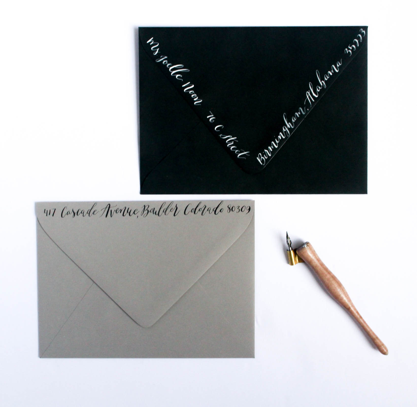 Calligraphy Envelope Addressing - Return Address Placement - WEdding Details.jpg