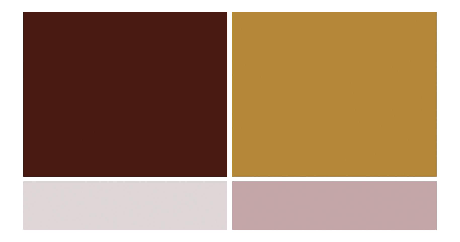 Autumn Wedding Color Scheme - True North Paper Co.