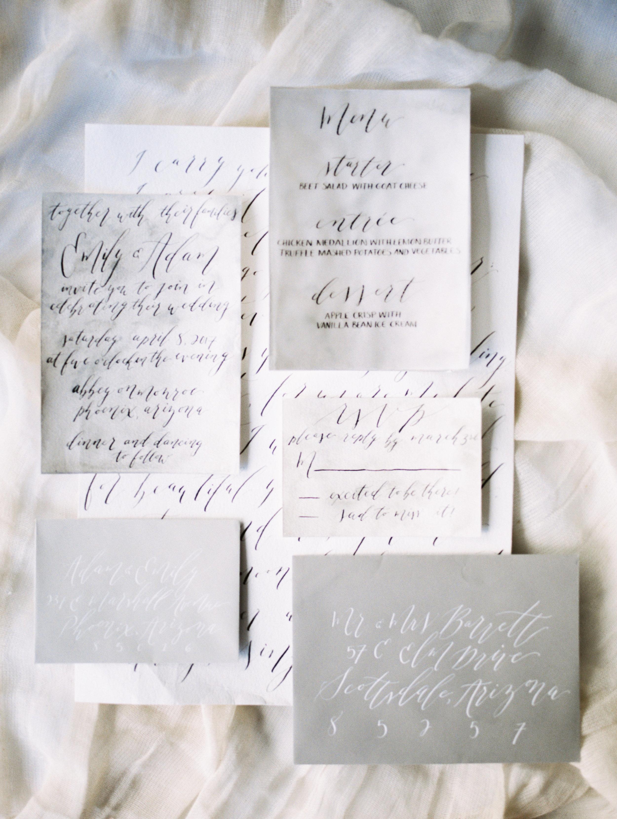 CustomInvitationSuite-WeddingInvitation-ModernCalligraphy-TrueNorthPaperCo-PeachesandTwine.JPG
