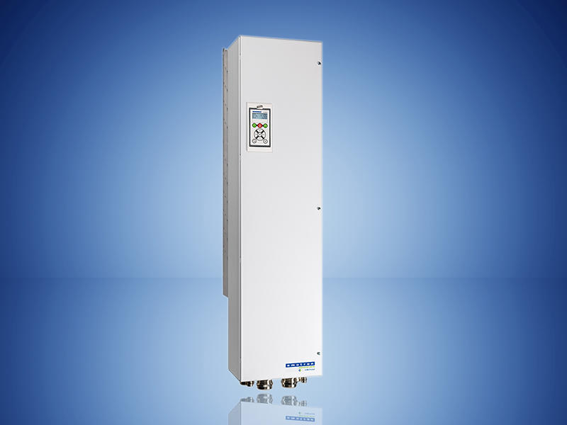 The new 300HP wall-mounted FDU Variable Frequency Drive from Emotron.