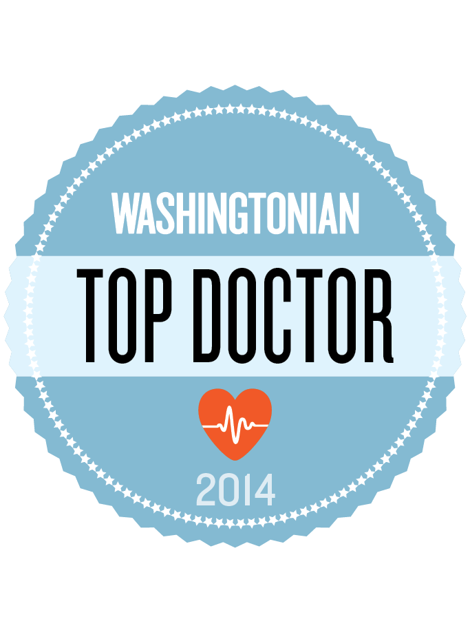 Washingtonian Top Doc Dr. Kathryn A. Dreger Prime PLC Health Care Doctor Georgetown Arlington VA 2014.png
