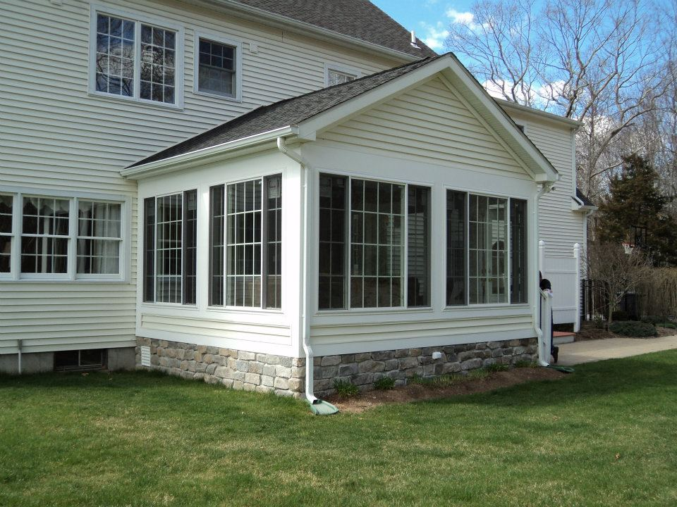 Sunroom Addition in East Lyme CT | Shaw Remodeling