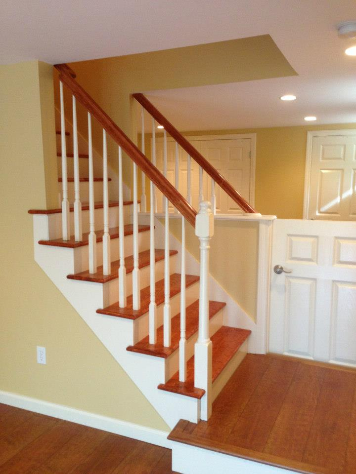 Basement Finish Remodel in Waterford CT | Shaw Remodeling