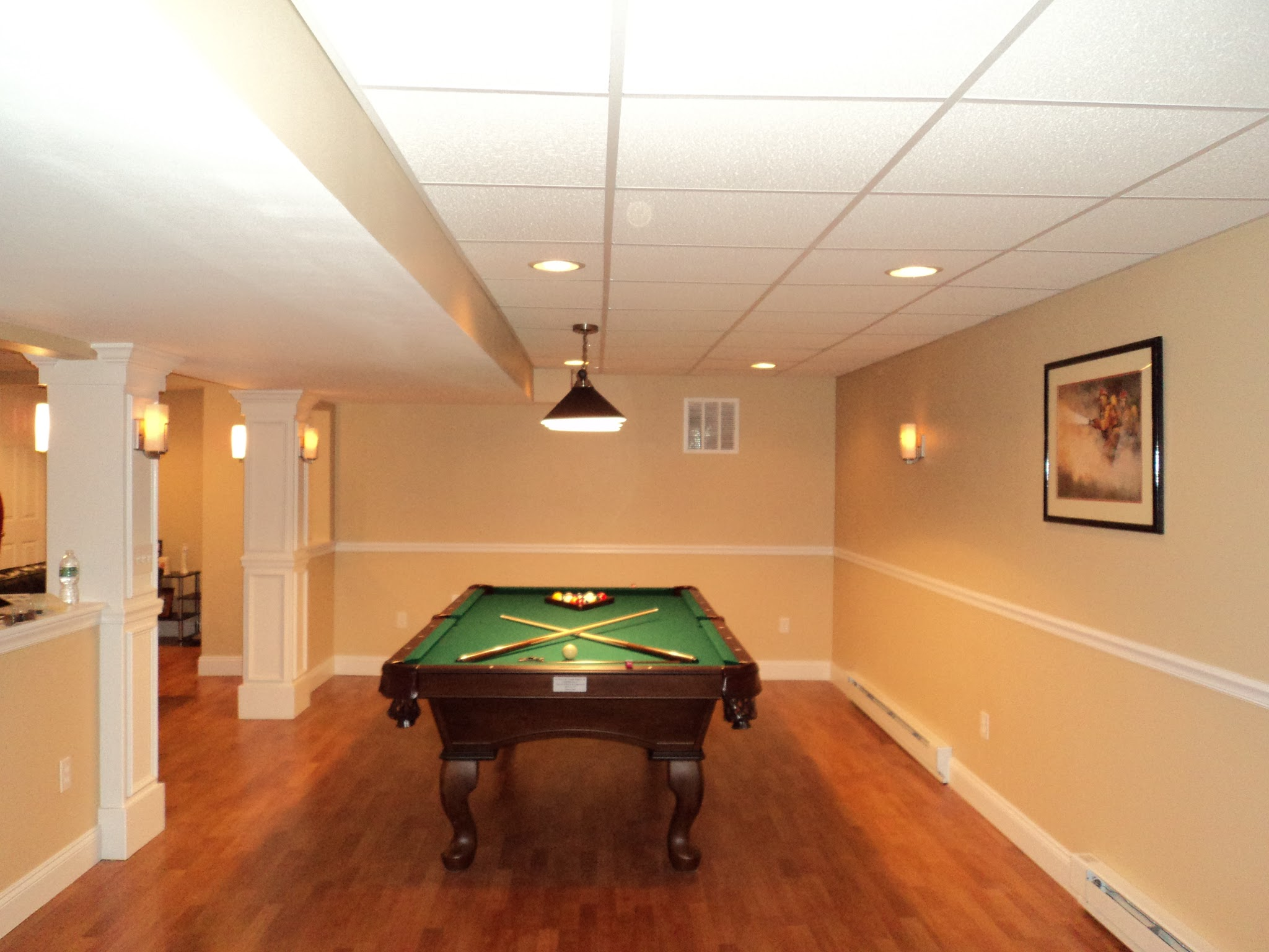 Basement Finish Remodel For CT Style Fix My House | Shaw Remodeling