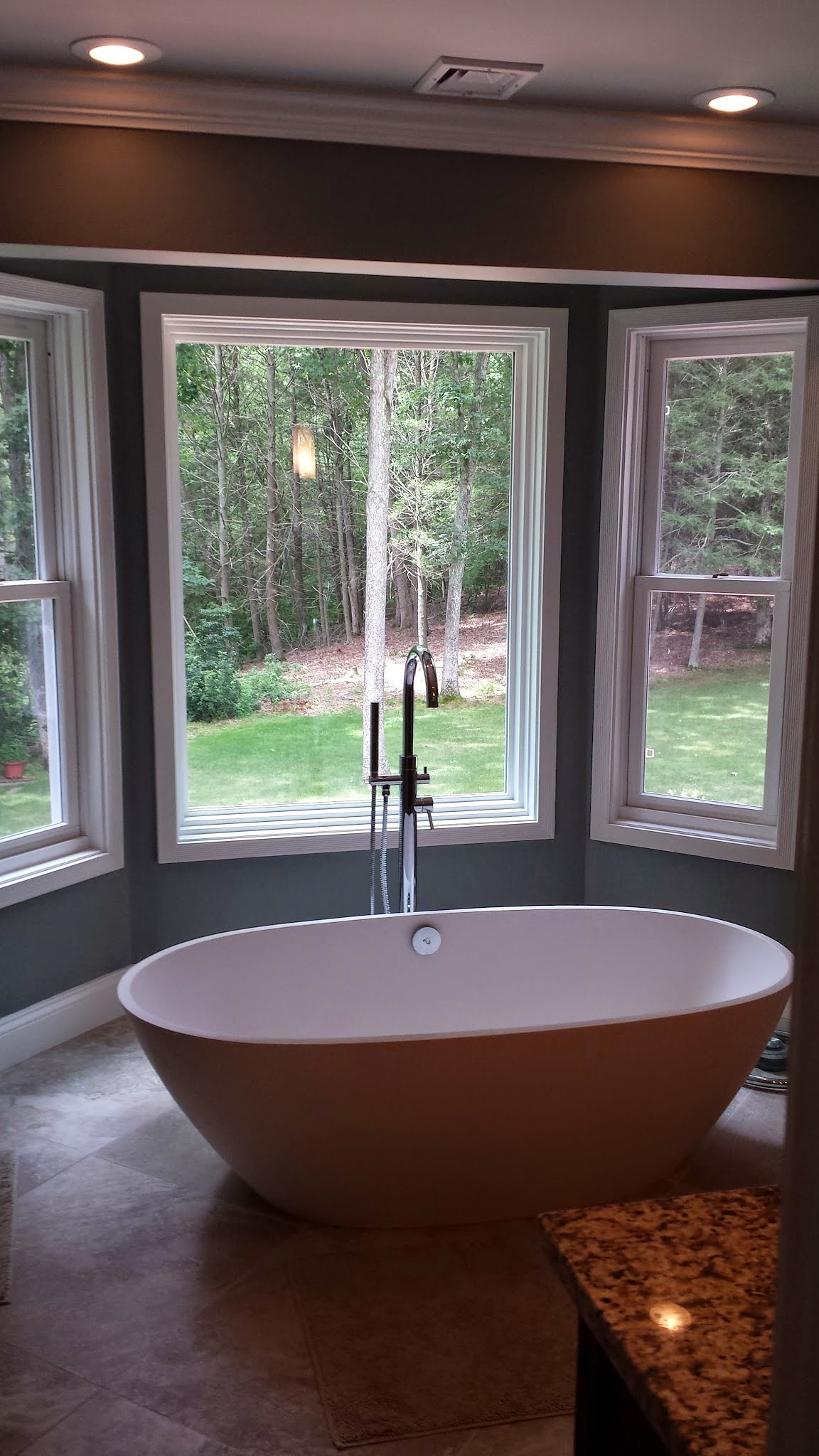 Master Bathroom Design and Remodel in Old Lyme CT | Shaw Remodeling