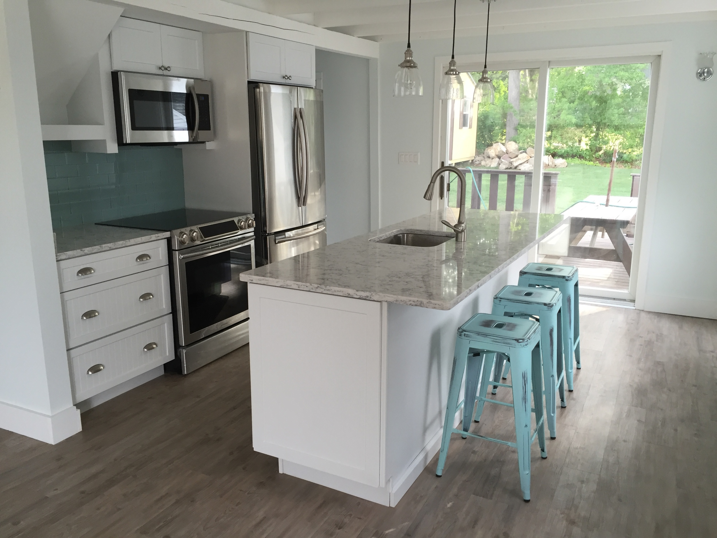 Entire Cottage Kitchen Remodel in Point of Woods Old Lyme CT | Shaw Remodeling