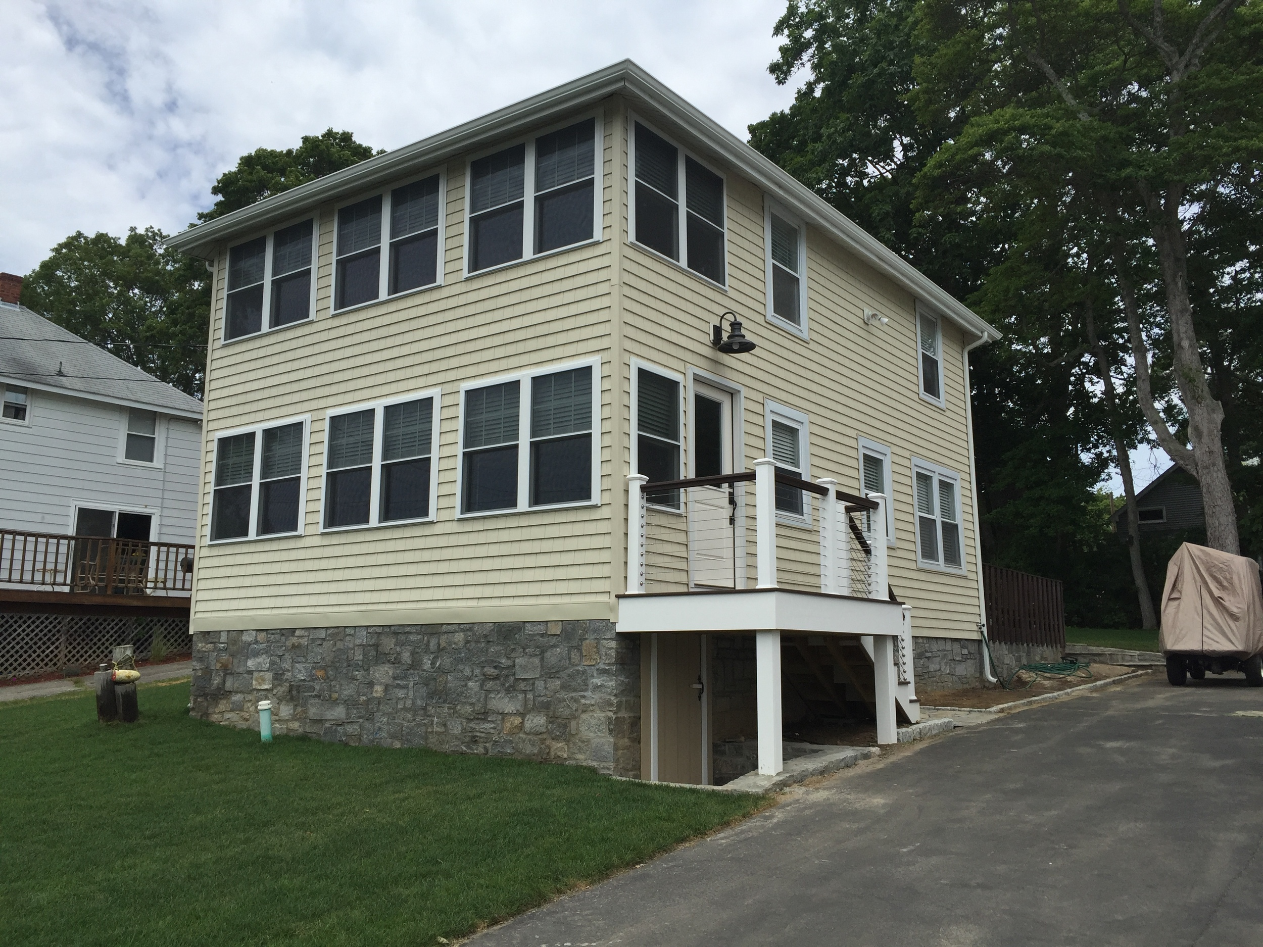 Entire Cottage Remodel in Point of Woods Old Lyme CT | Shaw Remodeling