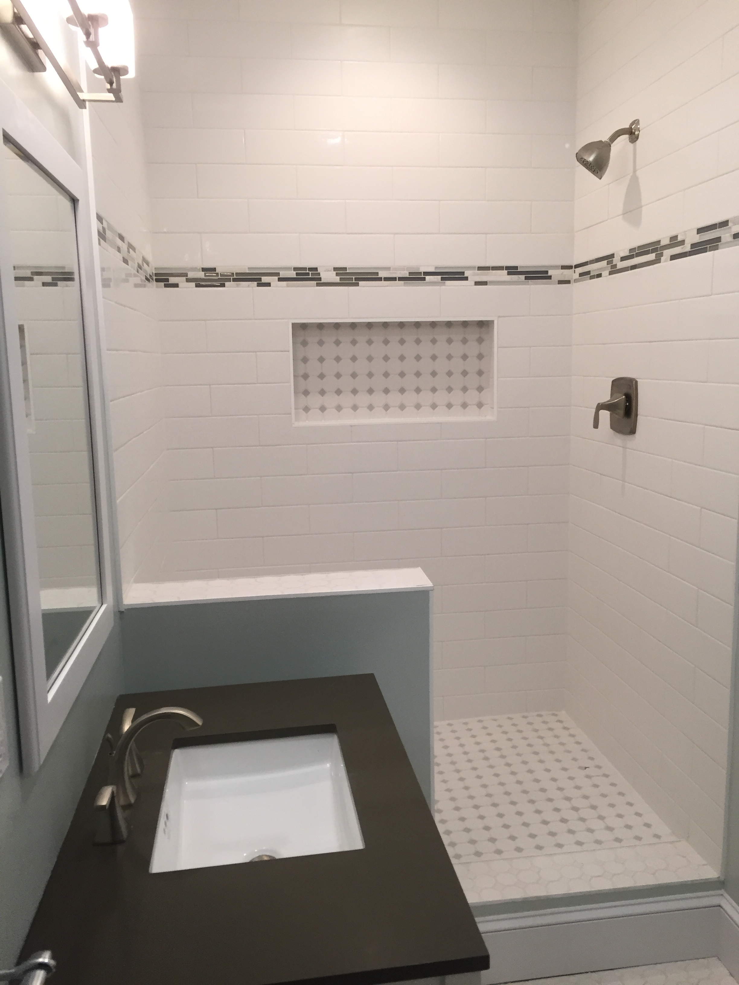 Basement Finish with Bathroom Remodel in Essex CT | Shaw Remodeling