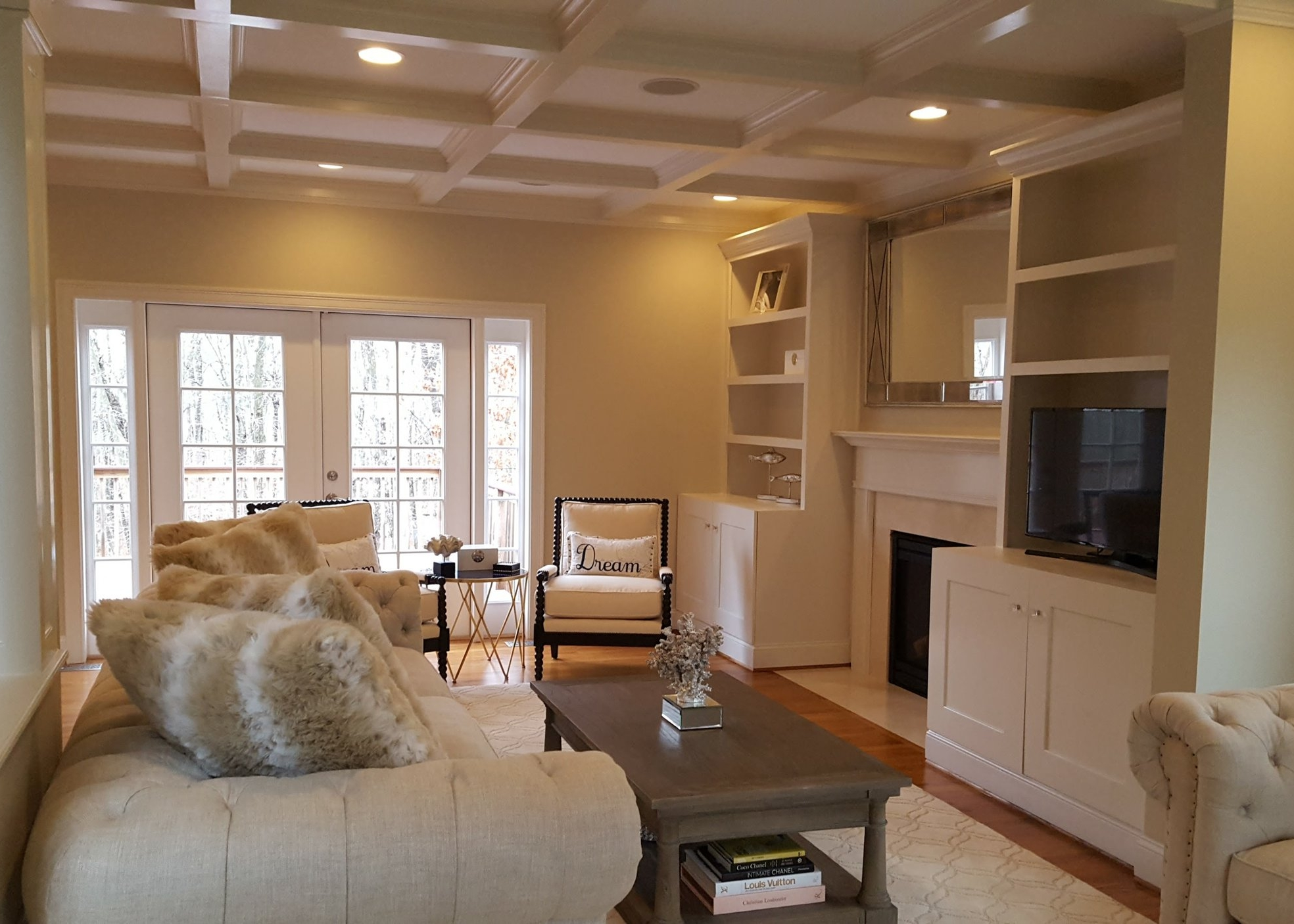 Living Room Design and Remodel in East Lyme CT | Shaw Remodeling