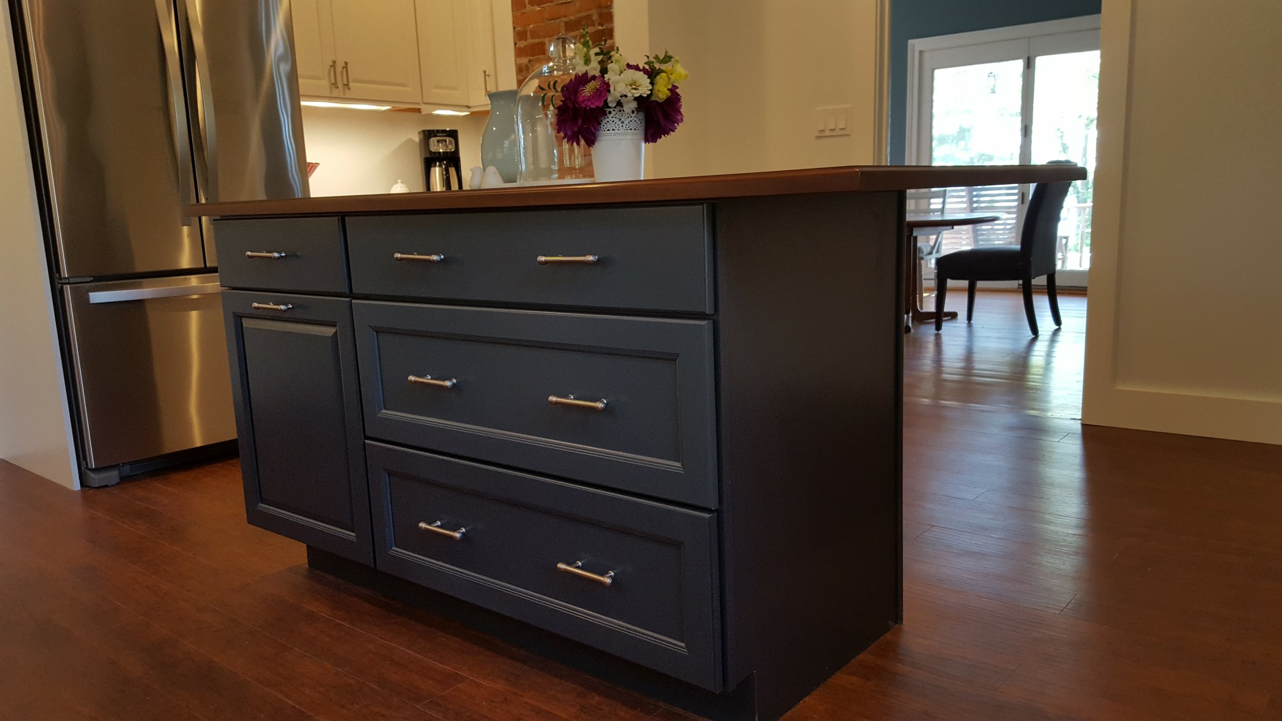 Kitchen Remodel with New Island in Waterford CT   Shaw Remodeling