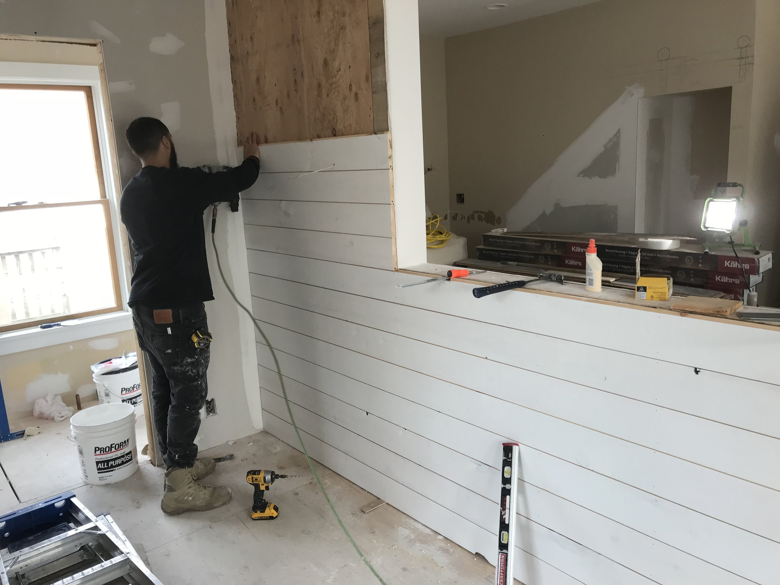 Project Update: Kitchen Remodel in Niantic