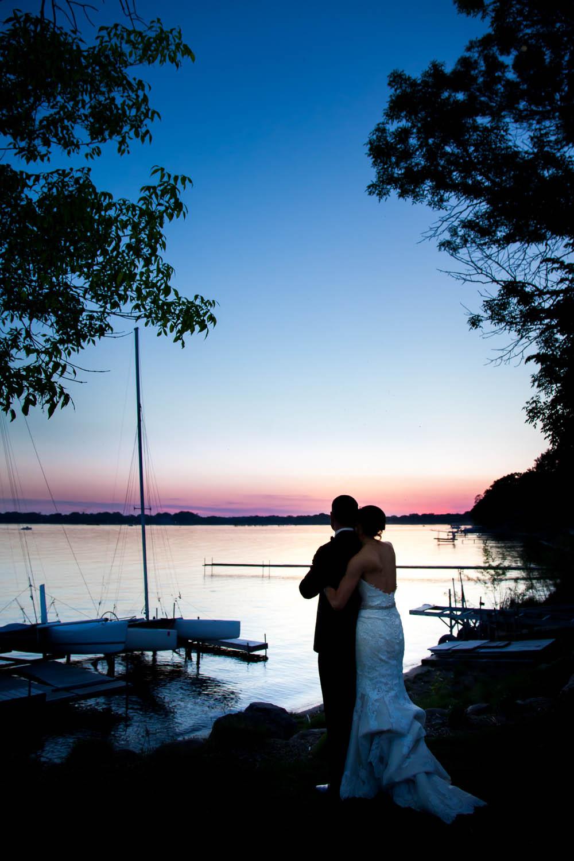 wedding photography mn sunset photos
