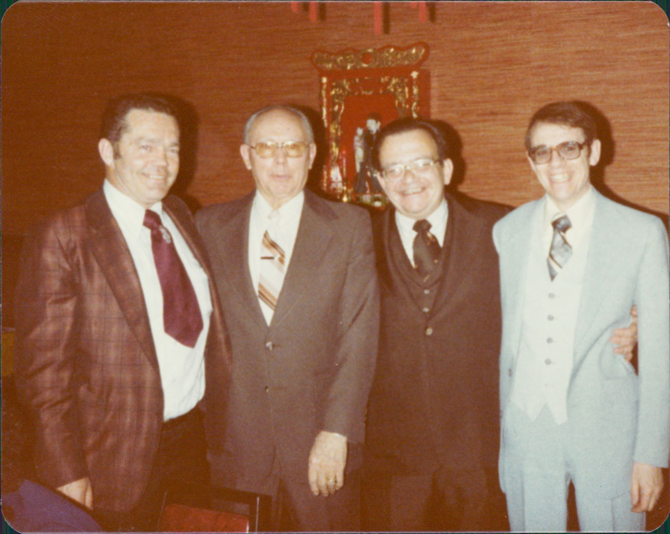 Lincoln, Eveson, Snyder, Seydel - 1979 Tax Party