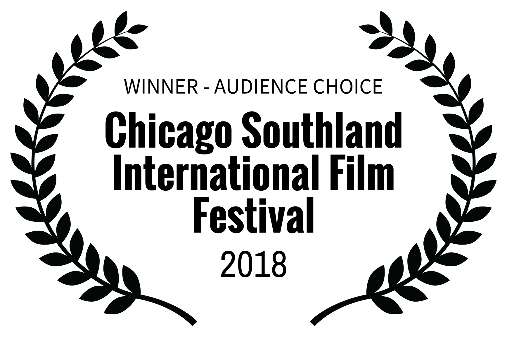 WINNER - AUDIENCE CHOICE - Chicago Southland International Film Festival - 2018.png