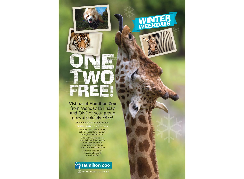 Promo poster for Hamilton Zoo