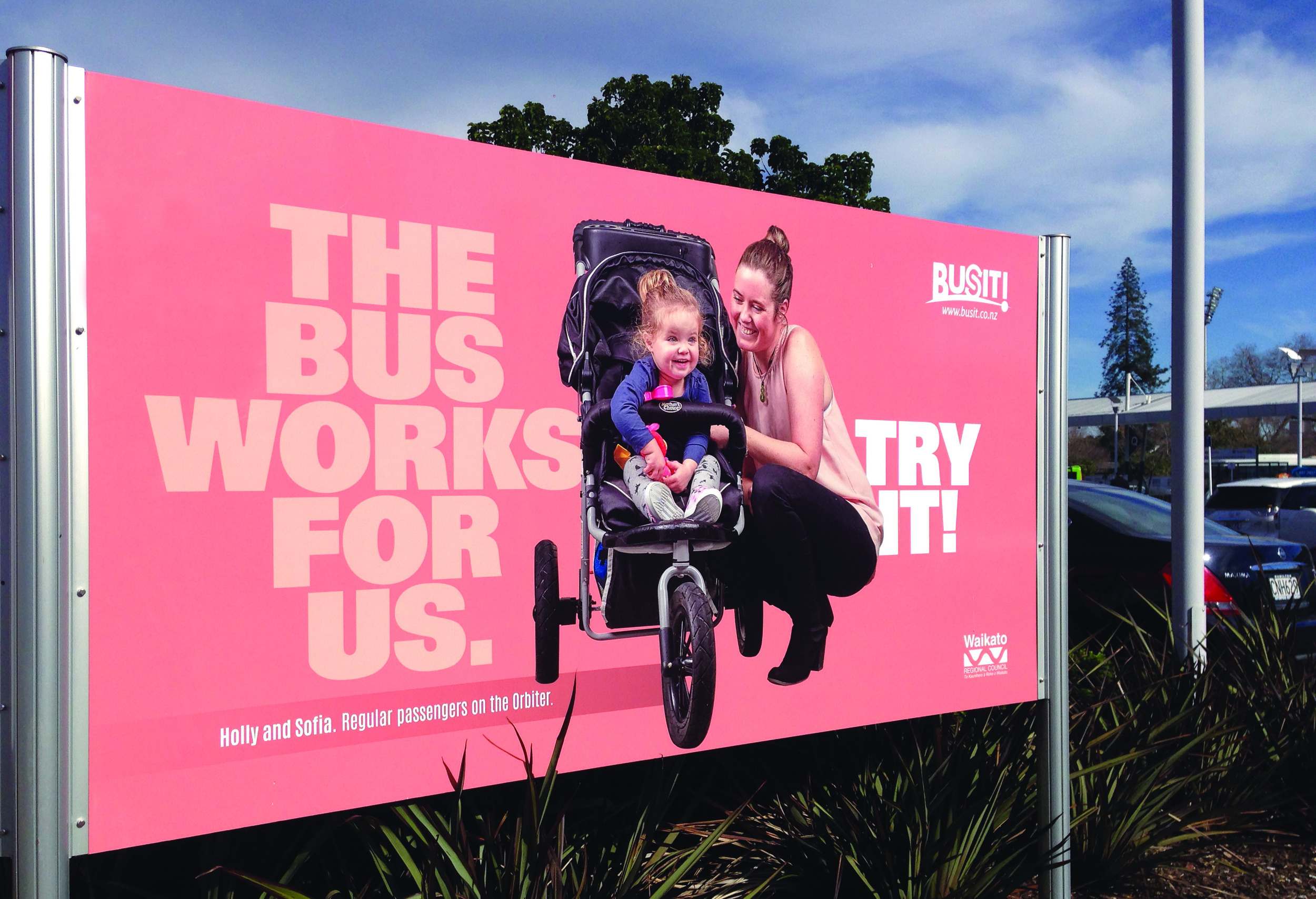 Campaign for Waikato Regional Council to get more people on the bus