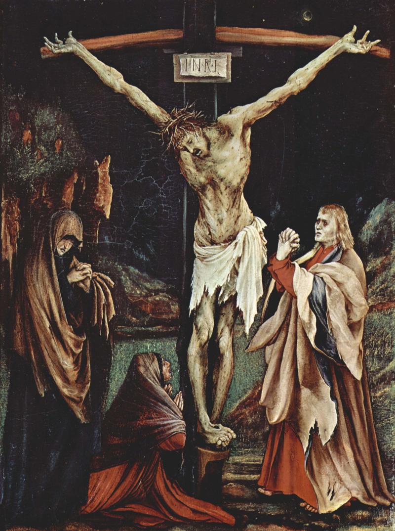 Matthias Grünewald, The Small Crucifixion, 1510.   PLACEMENTS: COSTAS | COSTAS, GLÚTEOS & PERNAS | PEITO & ABD | 1 BRAÇO, PEITO, PESÇOS & ABD | CABEÇA | CABEÇA & PESCOÇO | BRAÇOS, CHEST & ABS | 1 BRAÇO, PEITO & ABD |BRAÇOS, PEITO,ABD & COSTAS |ABD & COXAS | COSTAS & BRAÇOS | MÃO & BRAÇO | PESCOÇØ& PEITO | BODYSUITE |