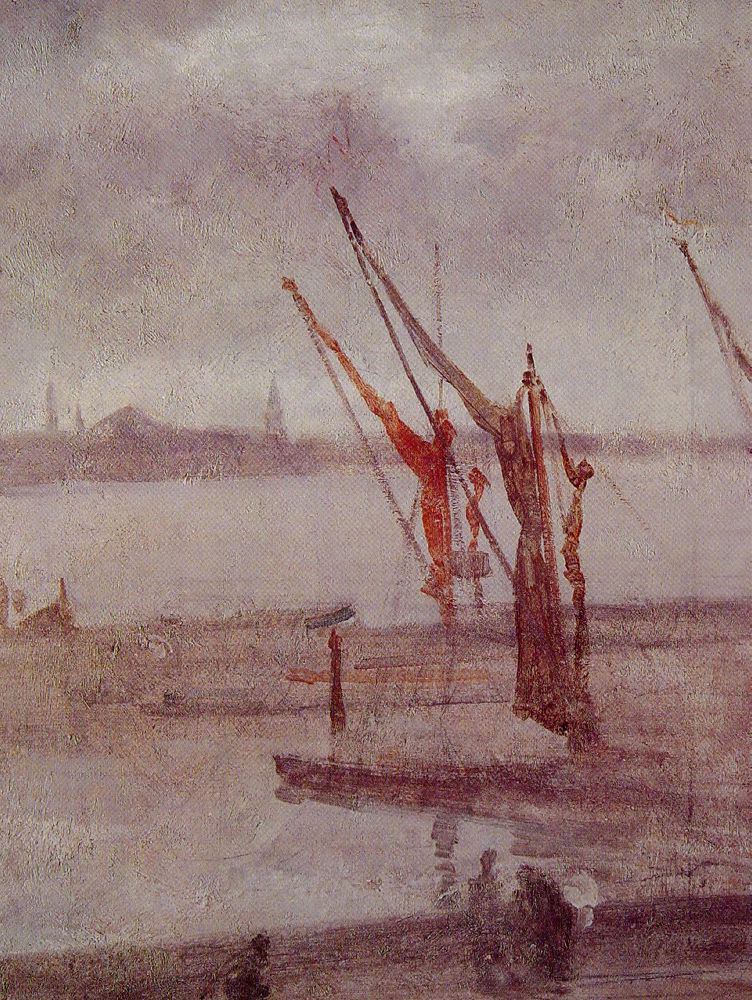 James McNeill Whistler, Chelsea Wharf Grey And Silver, 1875