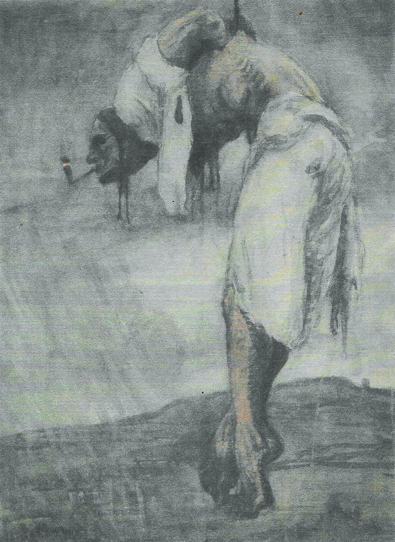 Milos Jiranek, Hanging Janosik, 1906