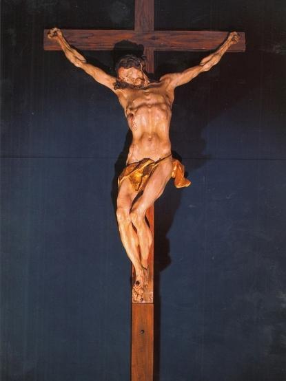 Johann Georg Pinzel, Crucifixion,1758.   PLACEMENTS: PEITO & ABD | COXAS | 1 PEITO, OMBRO & ABD |