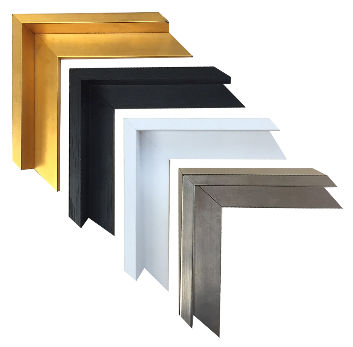 Custom Picture Framing - Floater Frames in 4 Colors