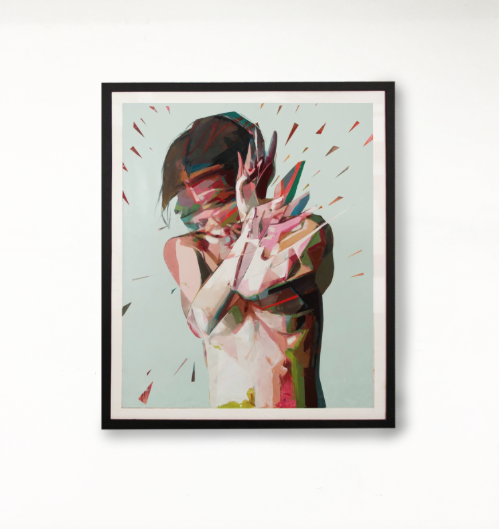 Framed print by Simon Birch