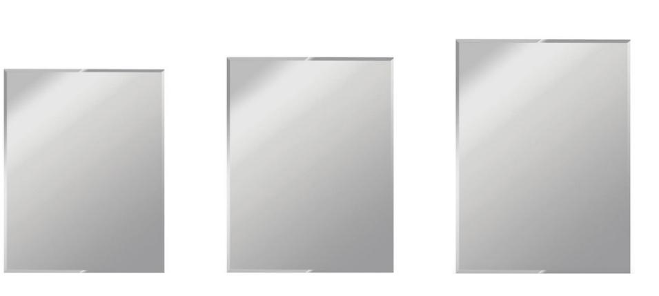 frameless beveled mirror los angeles
