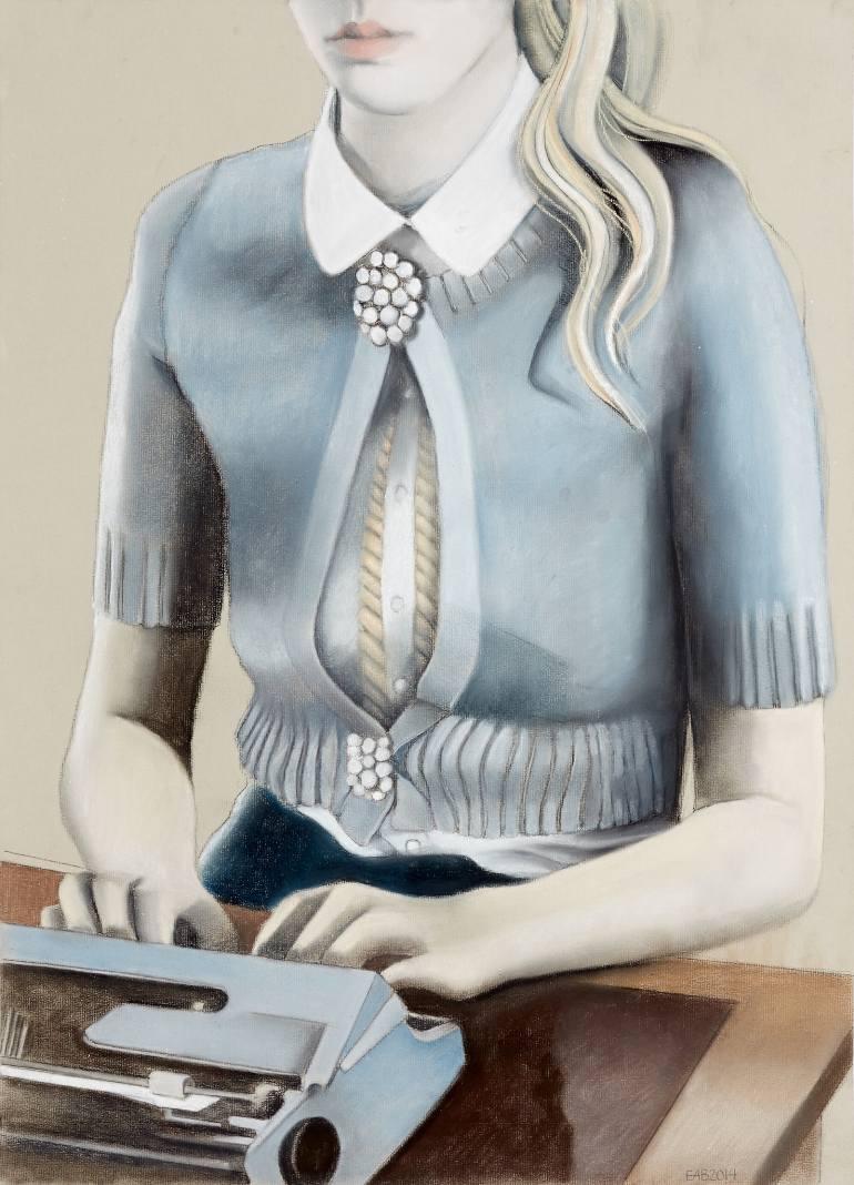 los angeles fine artist Edvarda Braanaas
