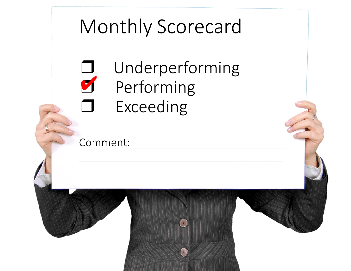 Monthly Performance Scorecard