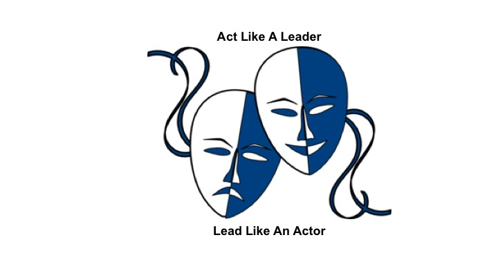 Act Like A Leader, Lead Like An Actor