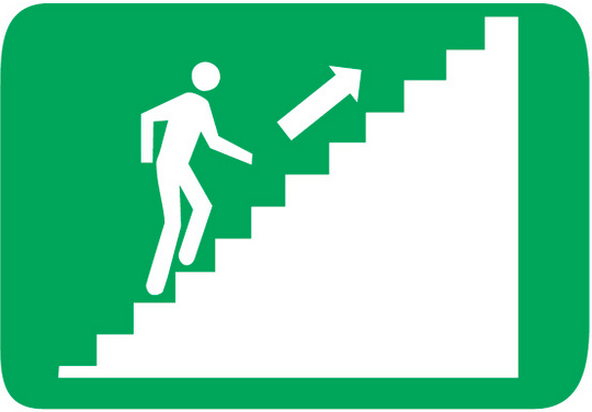 Engaged Employees Moving Up