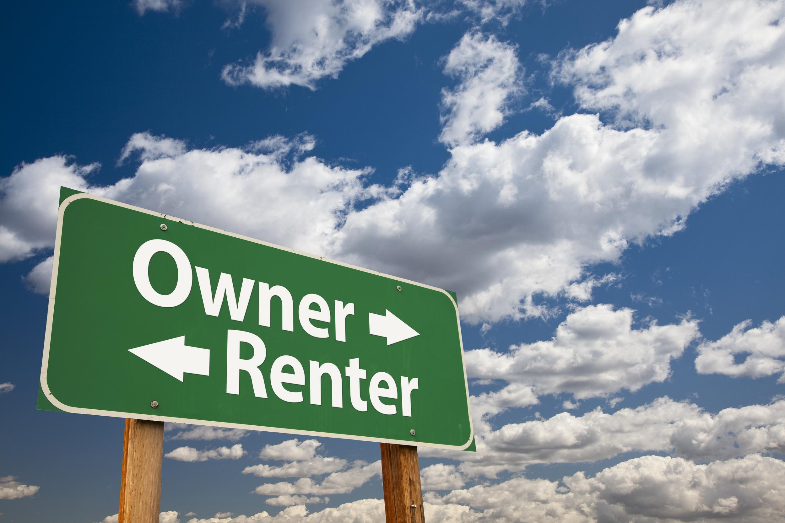 Renters versus Owners
